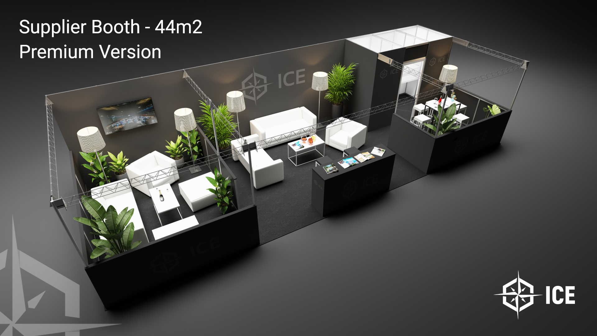 Supplier Premium Booth ICE