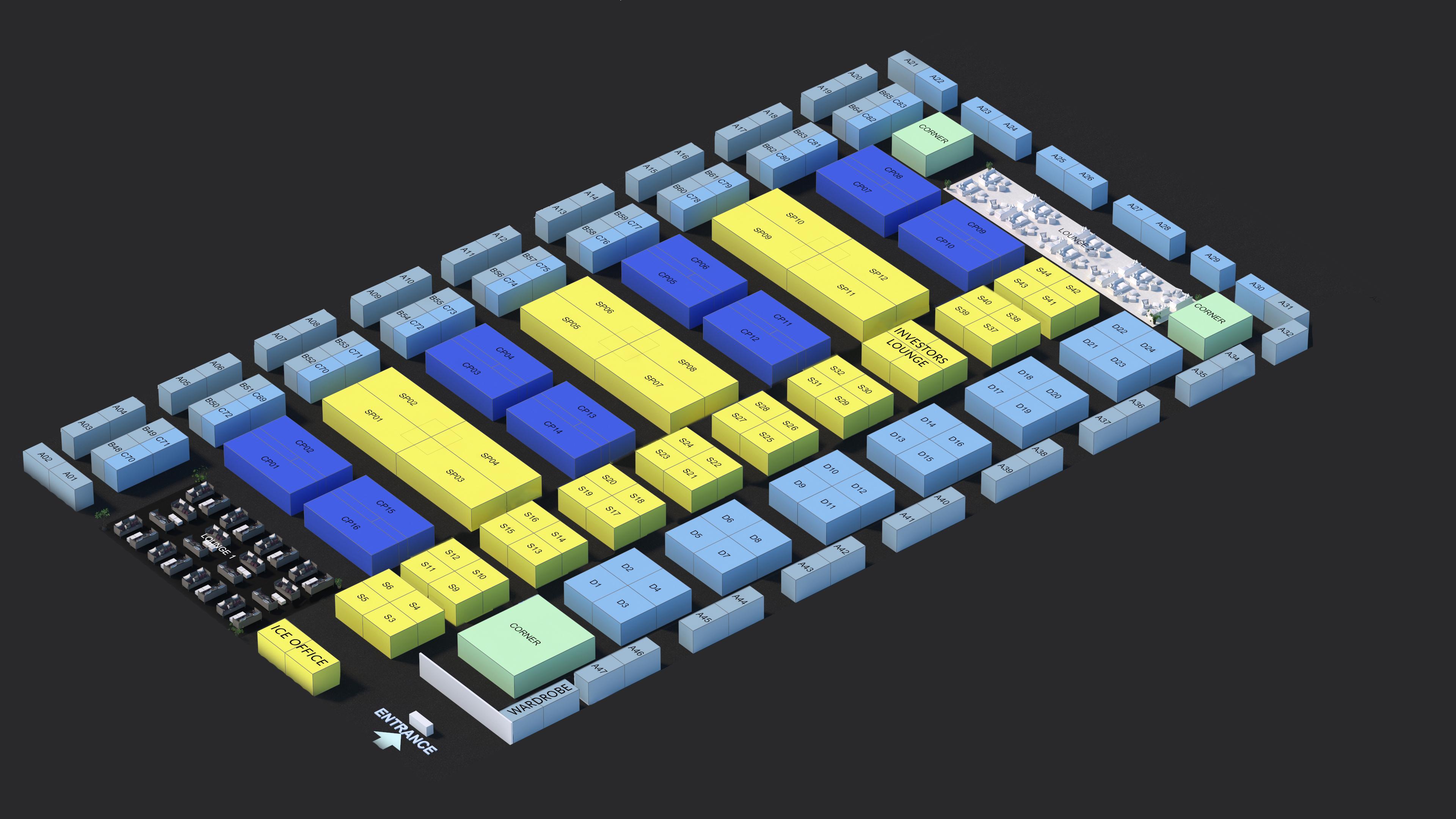 ICE'19 layout