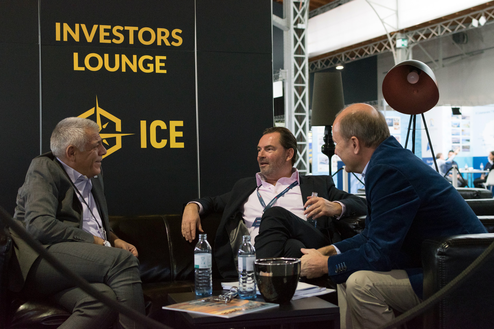 Investors lounge at International Charter Expo