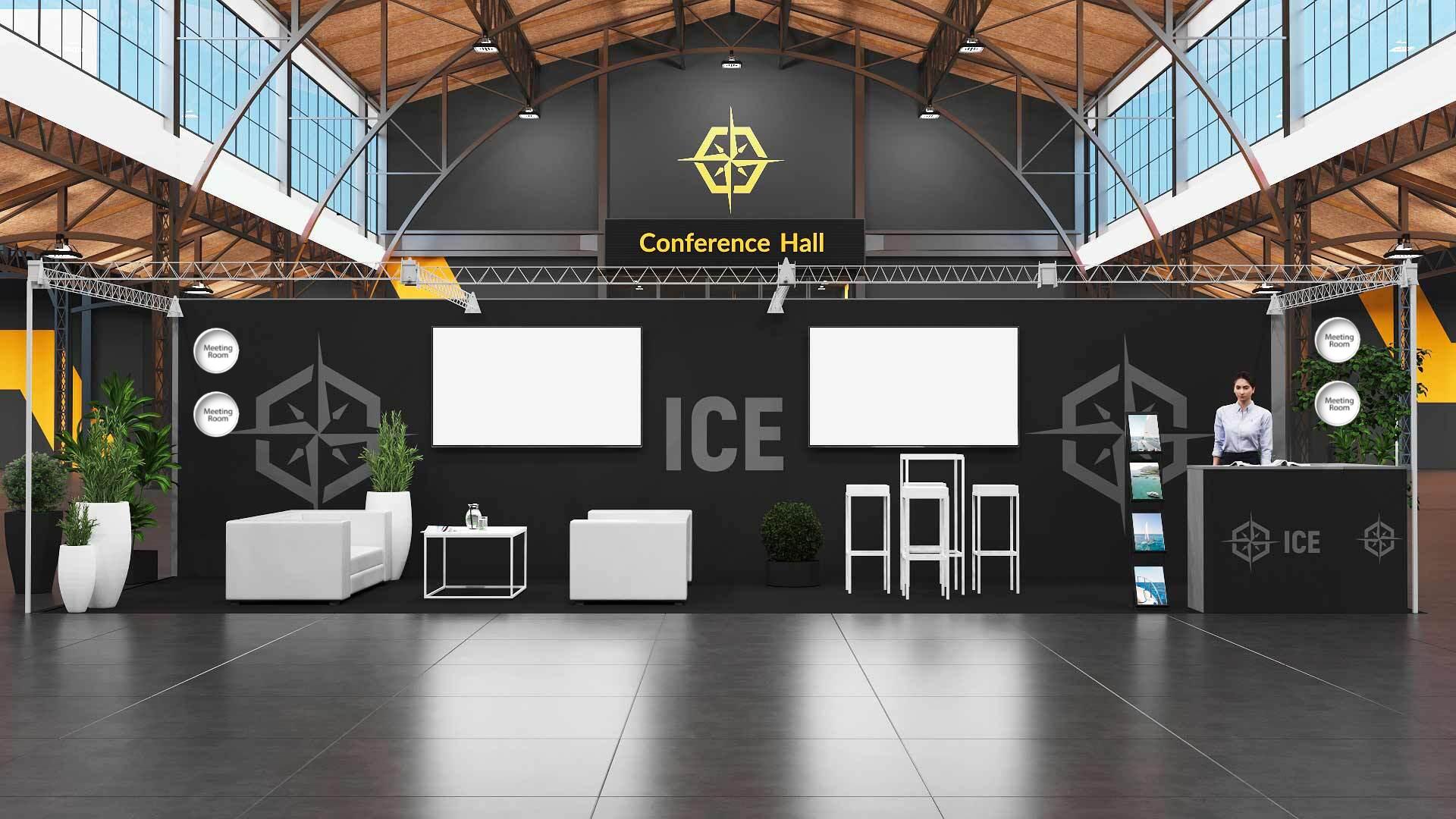 ICE'20 Premium booth