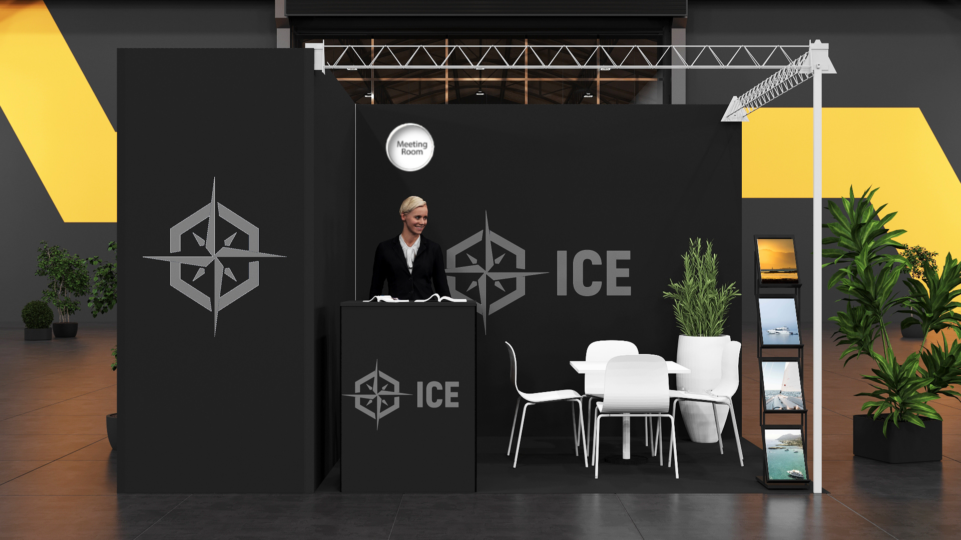 ICE'20 Single Booth